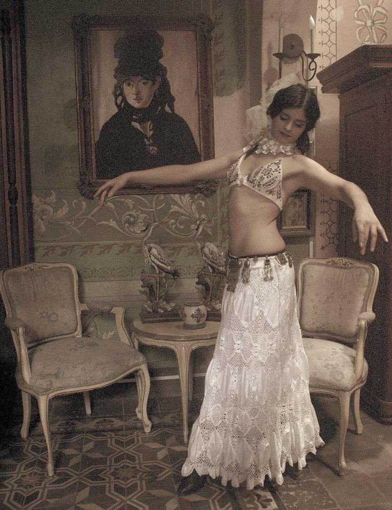 historia de danza del vientre