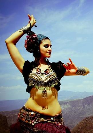 international belly dancer