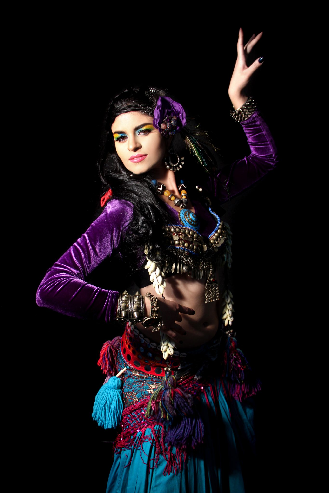 tribal belly dancer