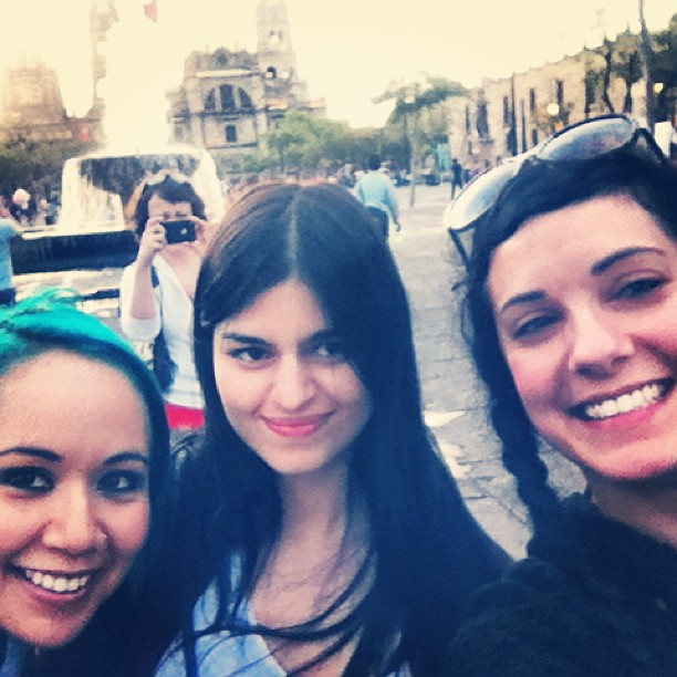 Lady Fred, Ela Rogers, Tracy & Edenia Archuleta | Tribal Fest Guadalajara 2013