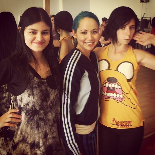 Tracy, Edenia Archuleta & Karla Padilla | Tribal Fest Guadalajara 2013