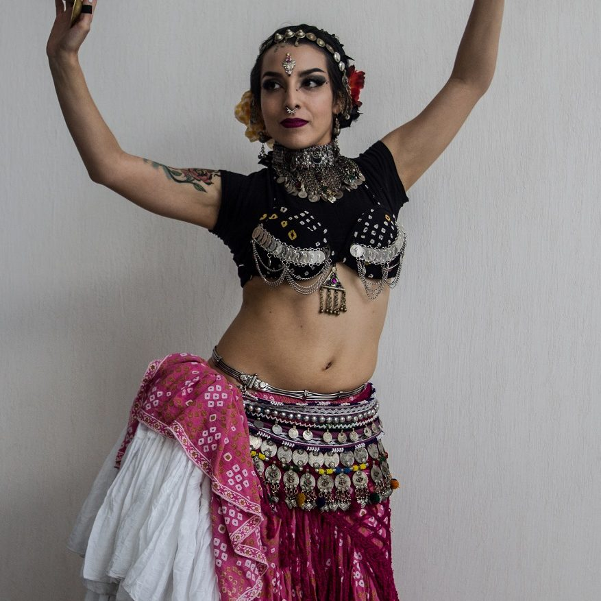 Paloma Prieto- Tribal Alabardas